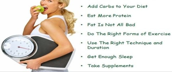 How To Gain Weight For Females in 10 Days By Eating Right